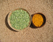 green lentils & turmeric