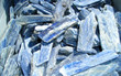 kyanite crystals