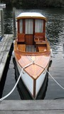 motor boat. power boat poster