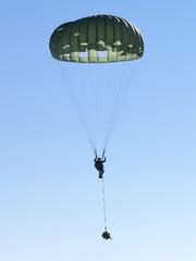 military parachute jump