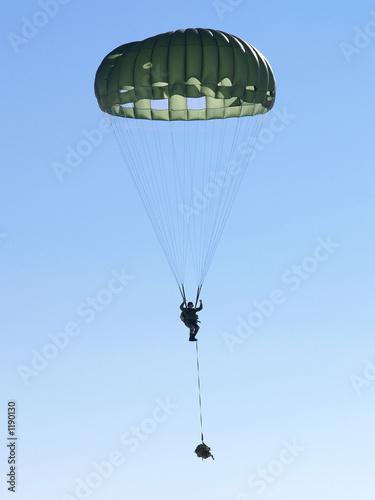 military parachute jump - 1190130