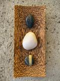 zen pebbles poster