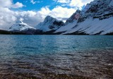 Fototapety bow lake 1
