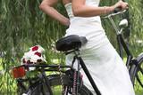 Fototapety bouquet on the bike