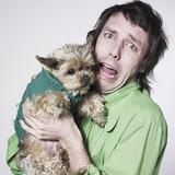 Fototapety homme et chien