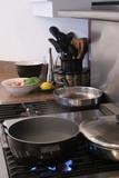 kitchen stove poster