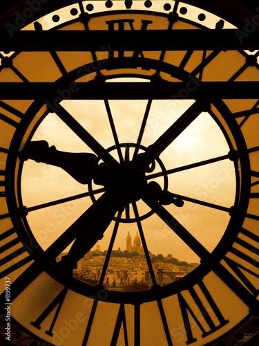 le sacré coeur et l'horloge - 1199737