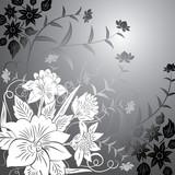 floral background, elements for design-