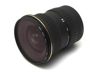wide angle lens on side