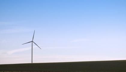 éoliennes solitaire