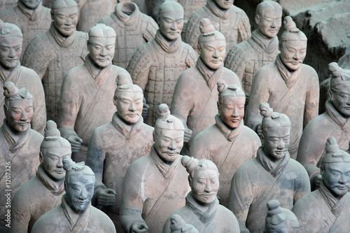 Staande foto Xian armée enterrée