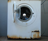 time to change your washing machine poster