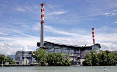 usine d'incinération iii