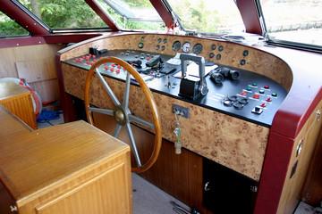 poste de cabine d'un bateau