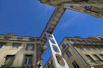 elevador de santa justa (lisboa portugal)