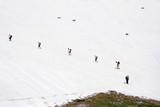 expedition climbing a mountain peak ljuboten poster