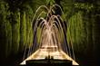 Leinwanddruck Bild - glühendes wasser