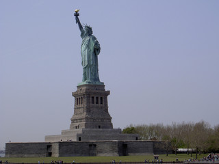 statue of liberty-side