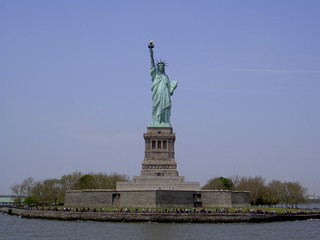 statue of liberty-front