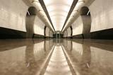 empty subway station floor - 1213756