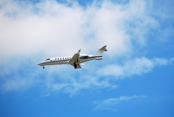 private luxury charter jet