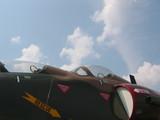 aircraft - front cockpit of skyhawk poster