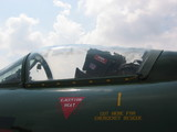 aircraft - front cockpit of fighter plane poster