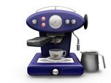 coffee machine poster