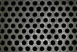 steel grid pattern poster