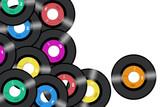 Fototapety vinyl records