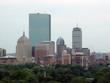 boston skyline from 21 beacon street