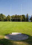 rugby field poster
