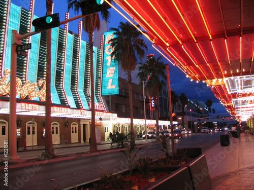 Poster Las Vegas fremont street