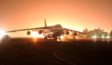 Fototapeta lotnisko - lotnisko - Samolot