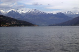 lake como, view in the direction of colico poster
