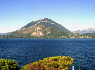 lake como, vieuw on menaggio