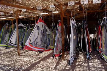 windsurf sail storage