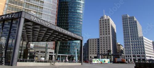 Fotobehang Berlijn potsdamer platz