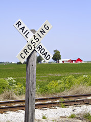 railroad crossing sign iii