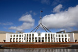 parliament house - wide poster