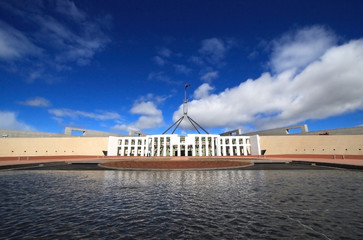parliament house - wide