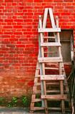 wooden ladder-2 poster