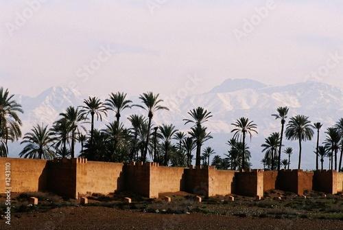 marrakech city walls
