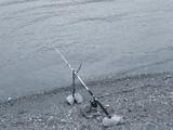 fishing pole poster