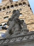 statue, florence poster