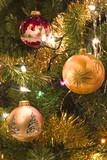 christmas tree fragment poster