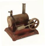 toy steam engine poster