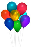 party baloons poster