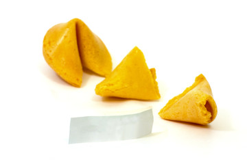 fortune cookie opened 1