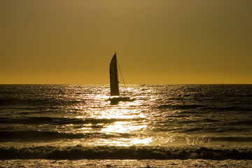 sailboat sunset 4